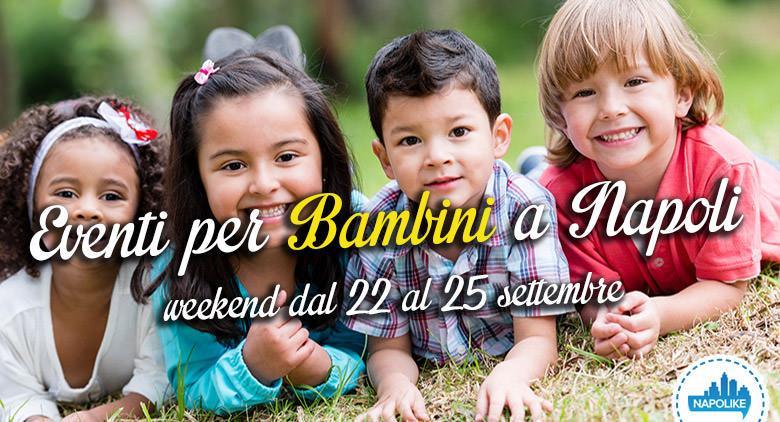 Eventi per bambini a Napoli nel weekend dal 22 al 25 aprile 2016