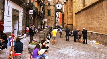 Arte a Sant'Eligio a Napoli 2016