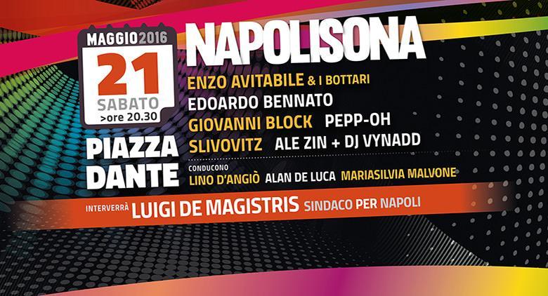 NapoliSona concerto gratis a Piazza Dante