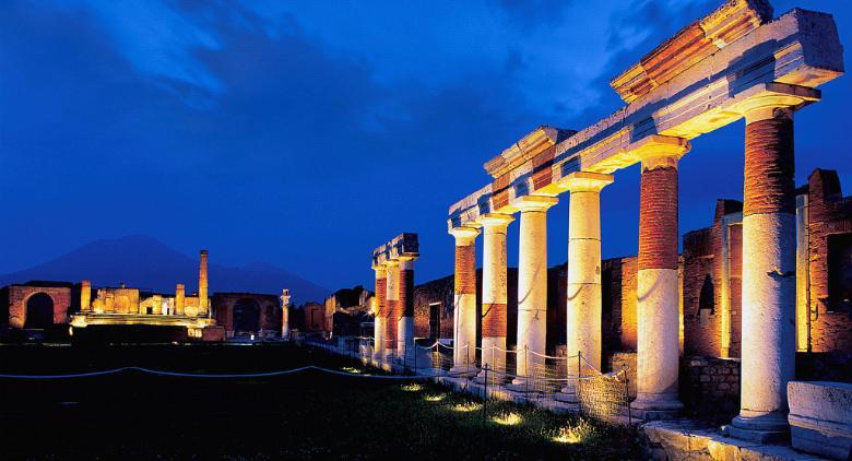 Scavi di Ercolano e Pompei apertura notturna