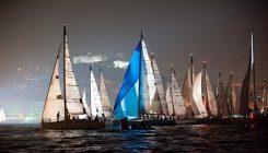 La Regata dei Tre Golfi 2016 a Napoli con un'affascinante partenza di notte