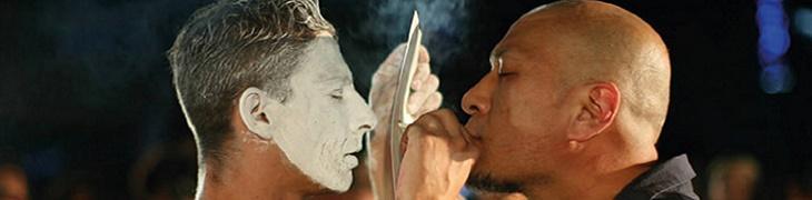 أداء فن مهرجان واحد في نابولي