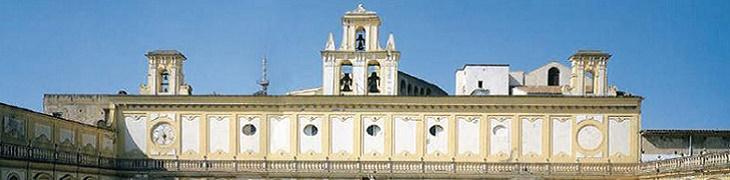 Esterno della Certosa di San Martino a Napoli
