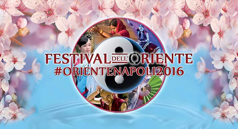 Locandina del Festival dell'oriente a Napoli edizione 2016
