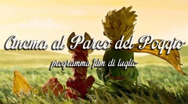 Programma cinema Parco del Poggio luglio 2016