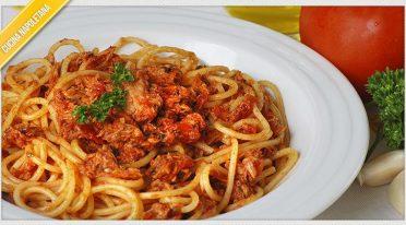 Recipe of tuna sauce