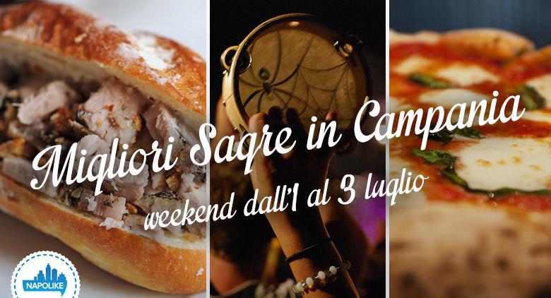 Sagre in Campania nel weekend dall'1 al 3 luglio 2016
