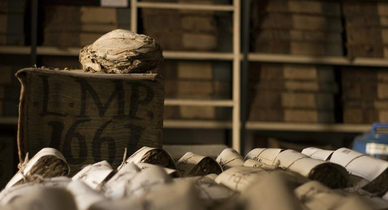 Das Archivio Storic in Neapel schließt
