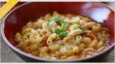 Recipe of pasta and summer beans