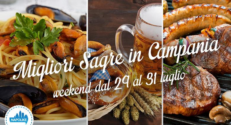 Sagre in Campania nel weekend dal 29 al 31 luglio 2016