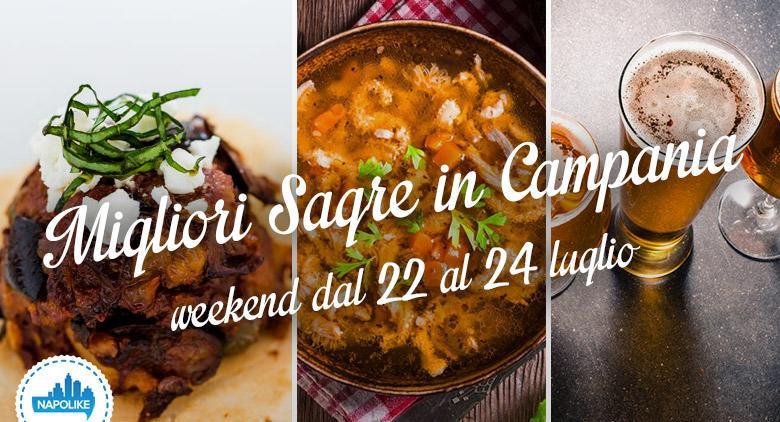 Sagre in Campania nel weekend dal 22 al 24 luglio 2016
