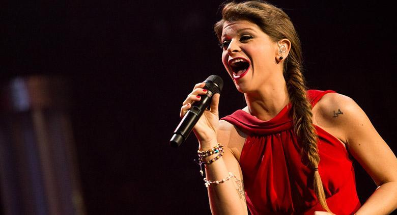 Alessandra Amoroso in concerto al Palapartenope