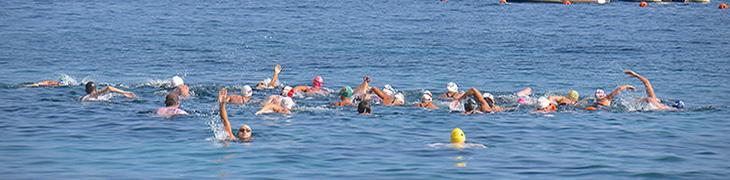 Maratona di nuoto Capri Napoli