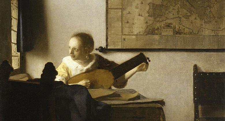 La suonatrice di liuto di Vermeer a Capodimonte