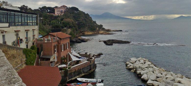Il panorama di Napoli da Marechiaro