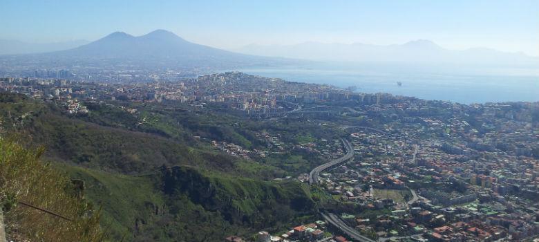 Veduta di Napoli dall'Eremo dei Camaldoli