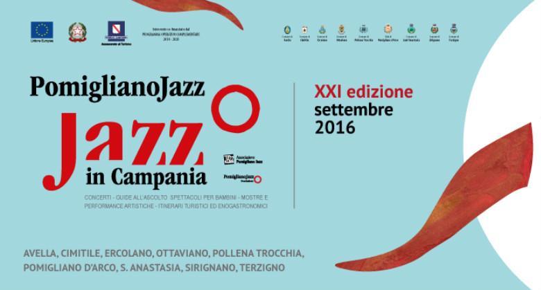 Locandina del Pomigliano Jazz Festival 2016