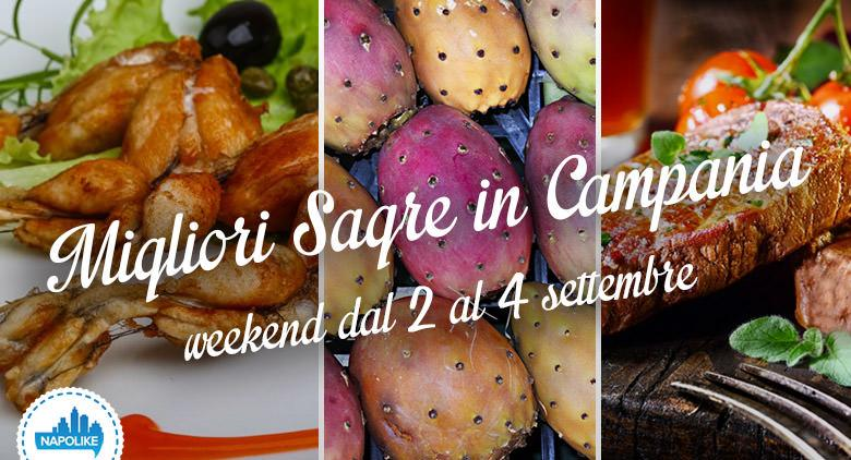 Sagre in Campania nel weekend dal 2 al 4 settembre 2016