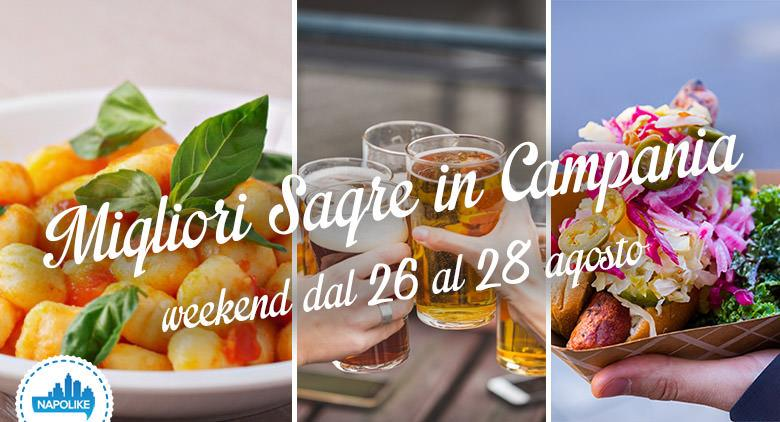 Sagre in Campania nel weekend dal 26 al 28 agosto 2016