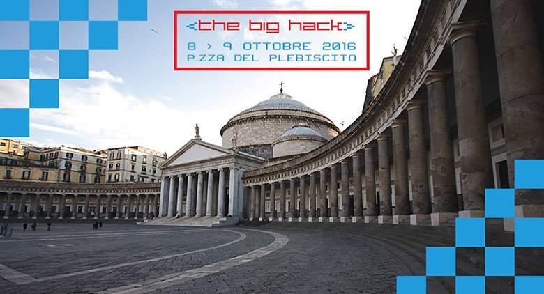 Hackathon a Napoli in Piazza Plebiscito