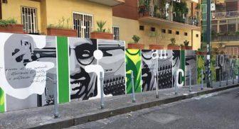 Murale per Giancarlo Siani a Napoli