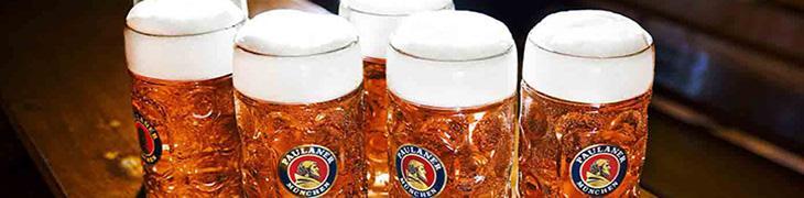 Boccali di birra chiara