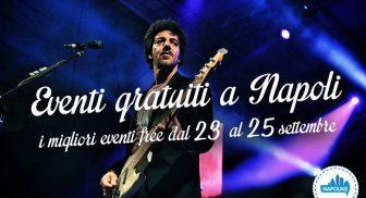 Eventi gratuiti a Napoli nel weekend dal 23 al 25 settembre 2016