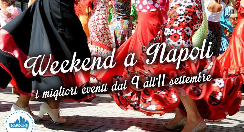 Eventi a Napoli nel weekend dal 9 all'11 settembre 2016