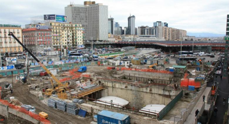 Il parcheggio sotterraneo a Piazza Garibaldi aprirà a maggio 2017