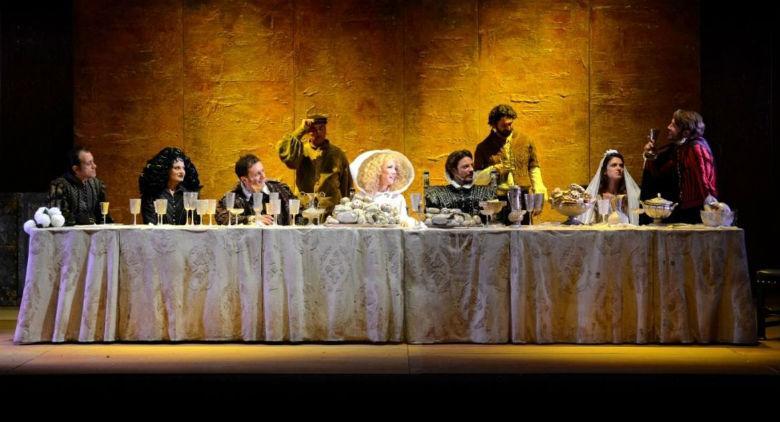 Nancy Brilli al Teatro Augusteo di Napoli con La bisbetica domata