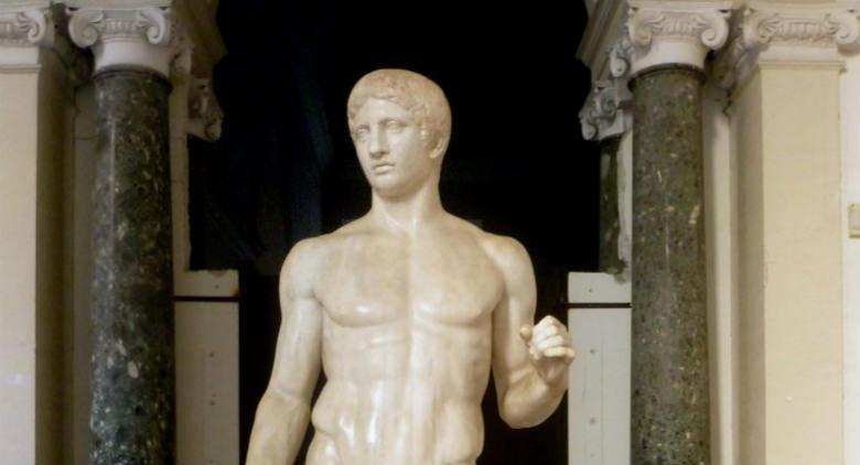 il museo archeologico napoli cartoon