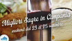 Sagre in Campania nel weekend dal 23 al 25 settembre 2016