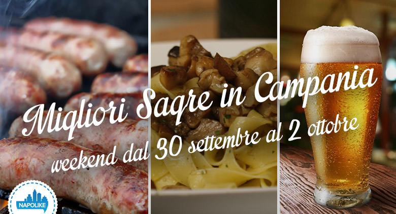 Sagre in Campania nel weekend dal 30 settembre al 2 ottobre 2016