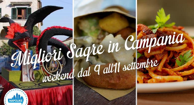 Sagre in Campania nel weekend dal 9 all'11 settembre 2016