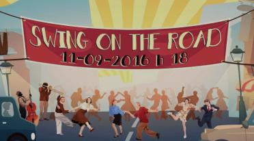 Swing on the road edizione 2016 a Napoli sul Lungomare caracciolo, copertina