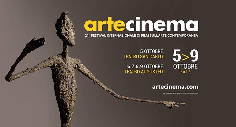Artecinema, Festival di Film sull'Arte Contemporanea al Teatro Augusteo