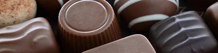 Cioccolatini artigianali alla Festa del cioccolato a Napoli