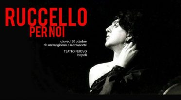 Ruccello for us, a tribute to Annibale Ruccello at the Teatro Nuovo in Naples