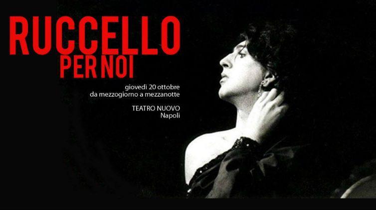 Ruccello per noi, omaggio ad Annibale Ruccello al Teatro Nuovo di Napoli