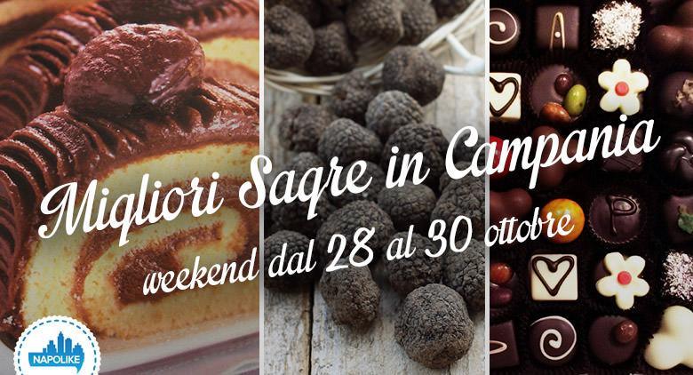 Sagre in Campania nel weekend dal 28 al 30 ottobre 2016