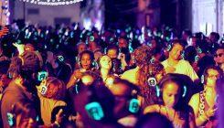Silent Party in Piazza Municipio a Napoli: la disco da ballare con le cuffie