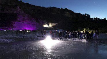 Visite serali alla Solfatara per l'autunno 2016