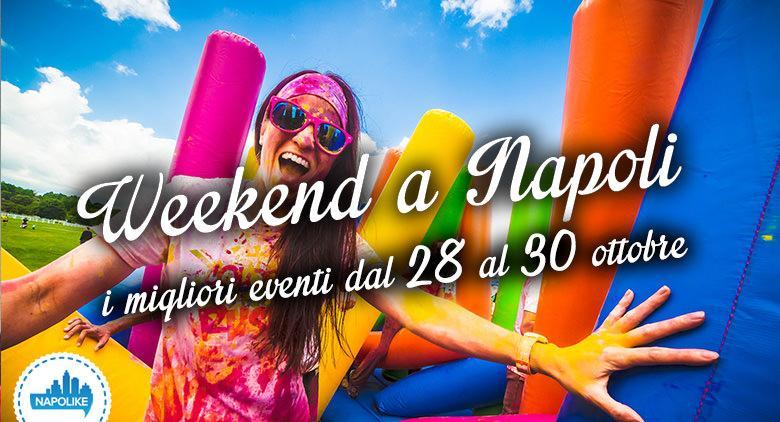 Eventi a Napoli nel weekend dal 28 al 30 ottobre 2016