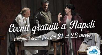 Eventi gratuiti a Napoli nel weekend dal 21 al 23 ottobre 2016