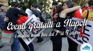 Eventi gratuiti a Napoli nel weekend dal 7 al 9 ottobre 2016