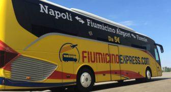 bus diretto napoli fiumicino 5 euro