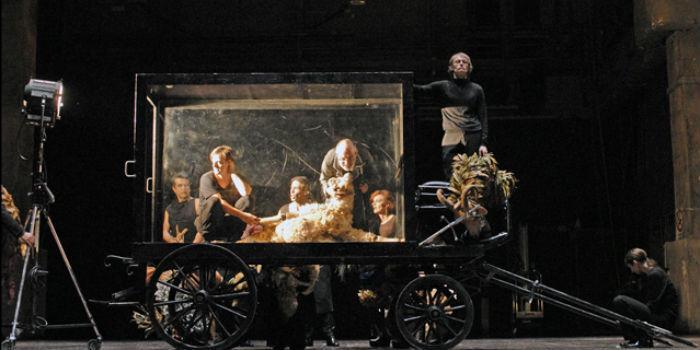 Natale in casa Cupiello di Antonio Latella in scena al Teatro San Ferdinando