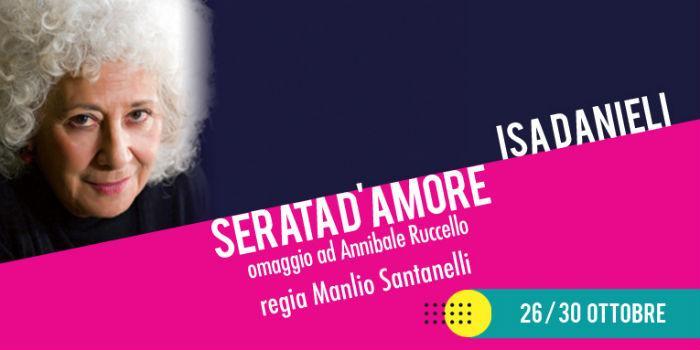 Serata d'amore di Annibale Ruccello al Teatro Nuovo di Napoli