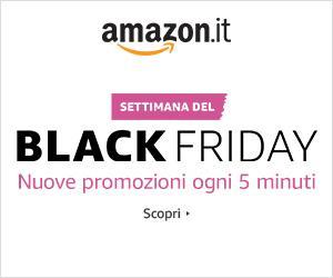 BlackFriday a Napoli con Amazon