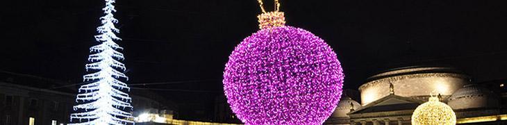 Luminarie di Natale a Napoli